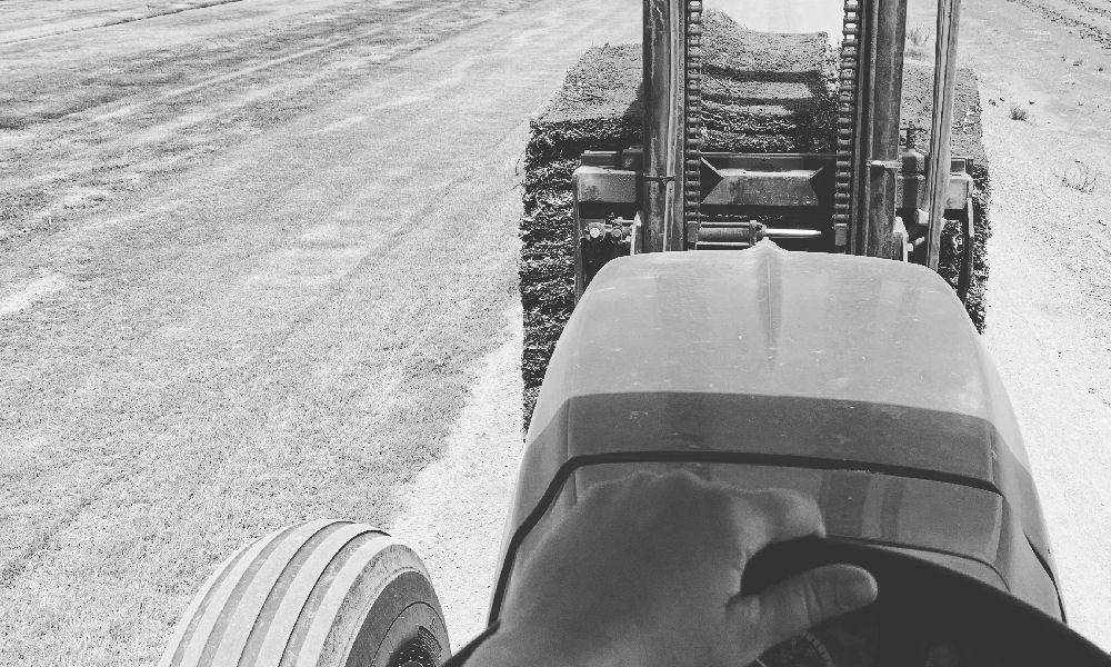 Our Values Driving Tractor Picture